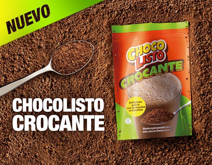 Nuevo chocolisto crocante