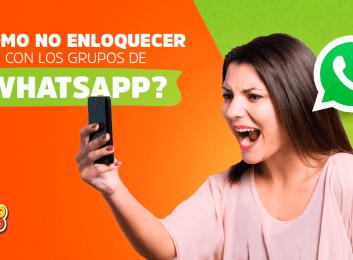 ¿Cómo no enloquecer con los grupos de WhatsApp?