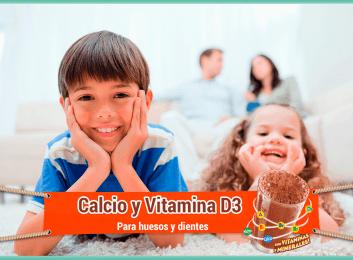 Calcio y vitamina D3