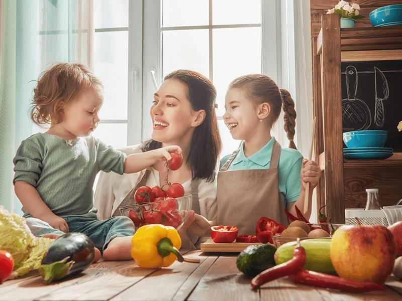 Dieta ideal para mis hijos