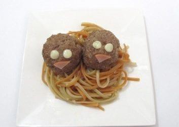 Receta nido de espagueti