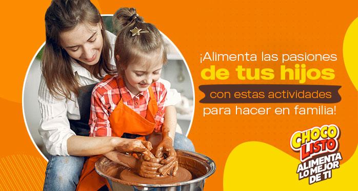 ¡ALIMENTA LAS PASIONES DE TUS HIJOS CON ESTAS ACTIVIDADES PARA HACER EN FAMILIA!