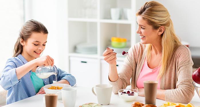 Alimentación balanceada para tus hijos en crecimiento..